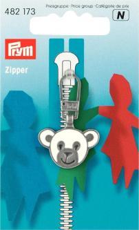 PRYM Fashion-Zipper für Kinder Bär