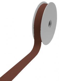 1 Rolle Baumwoll Standard Schrägband 40/20 dunkelbraun