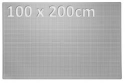 XXXL Patchwork Schneidematte 100 x 200cm grau