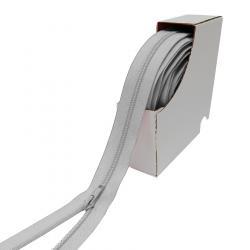 5mm YKK Polster und Taschen endlos Reißverschluss hellgrau