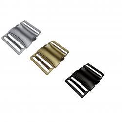 Metall FLAT Steckschnalle Steckverschluss 25mm / 40mm
