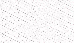 Baumwoll Musselin Stoff mit Herzen - weiss rosa