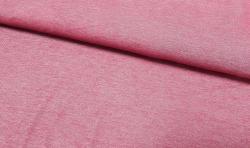 Jeans look Baumwoll Jersey Stoff - rot 170cm breit