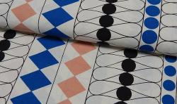 Bedruckter Baumwoll Canvas Meterware Stoff Wyber