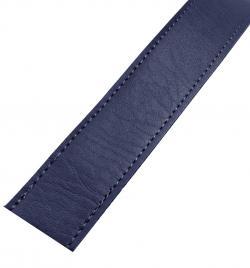 Kunstleder Taschengurt Gurtband 25mm dunkelblau
