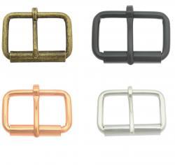 Metall Rollschnalle Gürtelschnalle für Taschen, Rucksäcke Schuhe
