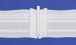 Gardinen Faltenband 3er Falte weiss 50mm breit 1:2,0