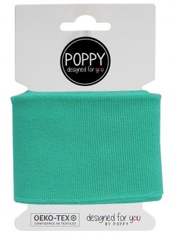 Cuff Poppy - Fertigbündchen Uni - mint