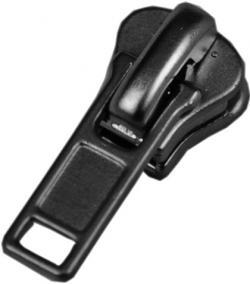 08V DA Schieber für Delrin / Vislon Reißverschluss - schwarz