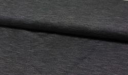 Jeans look Baumwoll Jersey Stoff - grau melliert 170cm breit