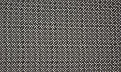 Viscose Jacquard Dobby Minimals Jersey Stoff Flechtmuster schwarz