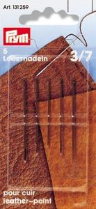 PRYM Ledernadeln ST 3-7 silberfarbig