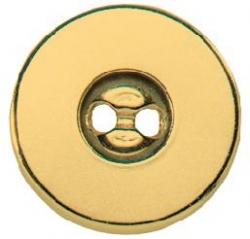 PRYM Magnet-Annähknöpfe 19 mm goldfarbig