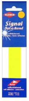 Kleiber Signalband reflektierend Sicherheitsband gelb