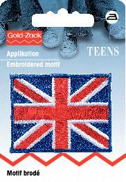 PRYM Applikation UK-Flagge