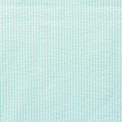 Baumwoll Stoff Seersucker Streifen Uni Limone