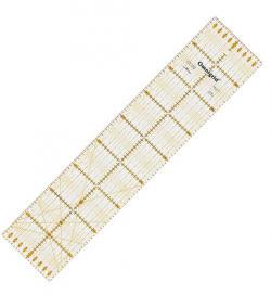 PRYM Universal-Lineal 10 x 45 cm Omnigrid für Patchwork & Quilt