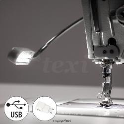 TEXI - LED / USB Nähmaschinenlampe mit Magnetfassung