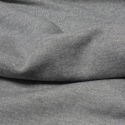 Baumwoll LUREX Sweatshirt Stoff - Grau