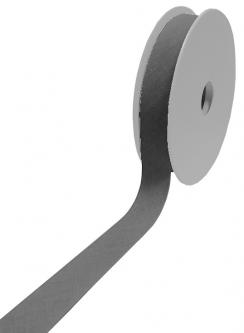 1 Rolle 25m - Baumwoll Schrägband 60/30 dunkelgrau