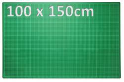XXL Patchwork Schneidematte 100 x 150cm grün
