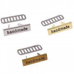 Handmade - Metall Applikationen für Taschen & Bekleidung