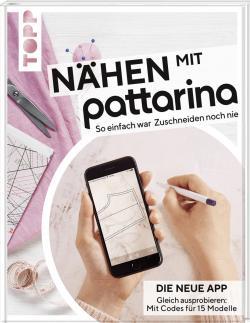 Buch Nähen mit Pattarina - Schnittmuster vom Smartphone auf den Stoff übertragen