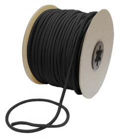 Gummiband Elastische Kordel 3mm schwarz