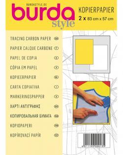 BURDA Schnittmuster - Kopierpapier weiß / gelb