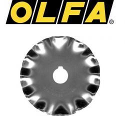 OLFA Ersatzklinge Wellenklinge 45mm