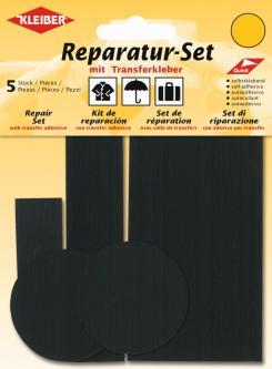 Kleiber Reparatur Set Nylon Flicken schwarz
