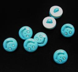 Kinderknopf *Smile* mint