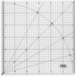 OLFA 30x30cm Patchworklineal - Quiltlineal