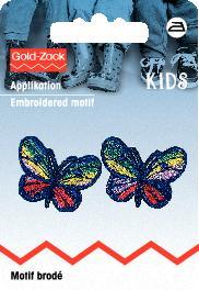 PRYM Applikation Schmetterlinge bunt