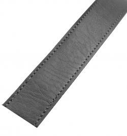 Kunstleder Taschengurt Gurtband 25mm dunkelgrau