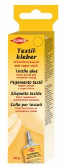 KLEIBER 30g Textilkleber Lederkleber - ohne Bügeln