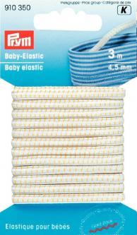 PRYM Baby-Elastic 4,5 mm weiß