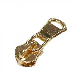 05M Metall Schieber freilaufend gold / Fimosa