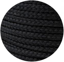 Baumwoll Kordel / Parkakordel - schwarz