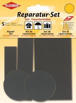 Kleiber Reparatur Set Nylon Flicken grau