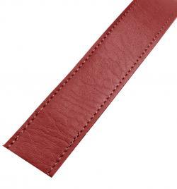Kunstleder Taschengurt Gurtband 25mm rot
