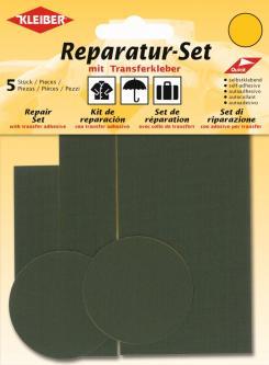 Kleiber Reparatur Set Nylon Flicken olive