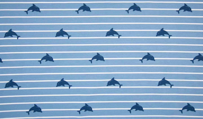 baumwoll jersey maritim stoff delphine online kaufen. Black Bedroom Furniture Sets. Home Design Ideas
