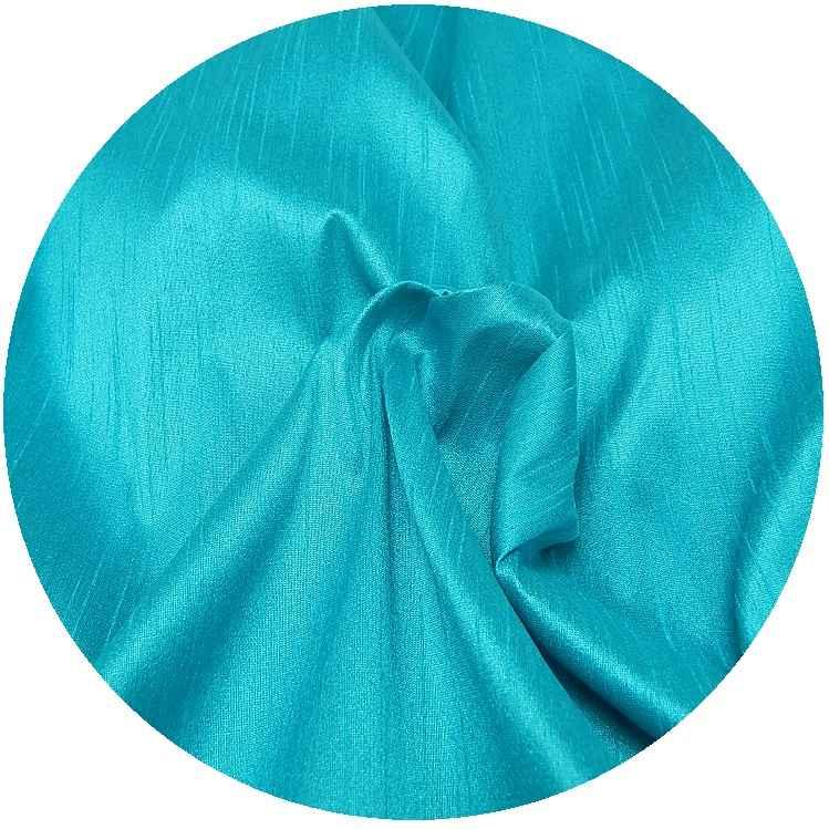 bourette kunstseide stoff t rkisblau online kaufen www. Black Bedroom Furniture Sets. Home Design Ideas