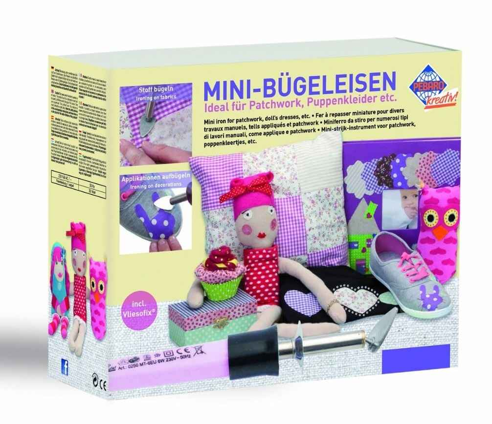 SET - Mini Bügeleisen PEBARO für Patchwork Quilting