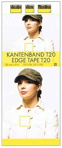 Vlieseline SB Kantenband T20 schwarz 5m 3.70 EUR//Meter