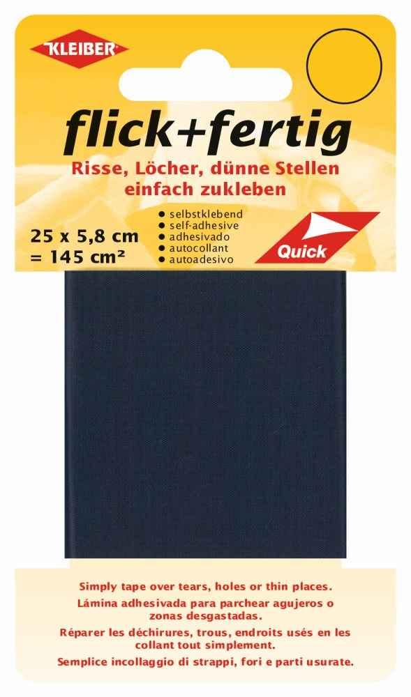 Kleiber Aufklebeflicken Flick /& Fertig dunkelblau