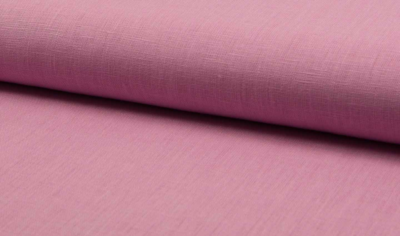 leinenstoff natura 140cm breit rosa online kaufen. Black Bedroom Furniture Sets. Home Design Ideas