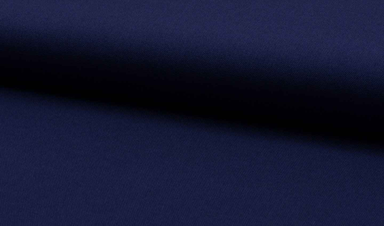 baumwoll canvas meterware stoff dunkelblau online kaufen. Black Bedroom Furniture Sets. Home Design Ideas