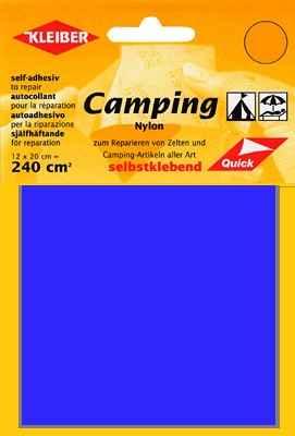 kleiber camping nylon flicken selbstklebend royalblau. Black Bedroom Furniture Sets. Home Design Ideas